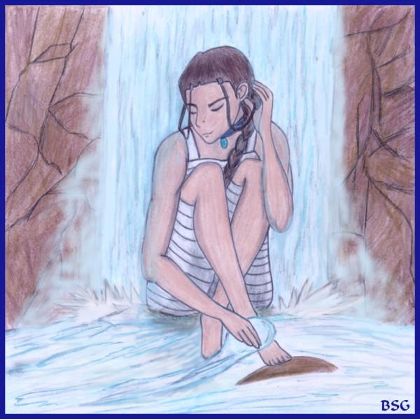 """Katara - A Moment to Herself"" by BSG"