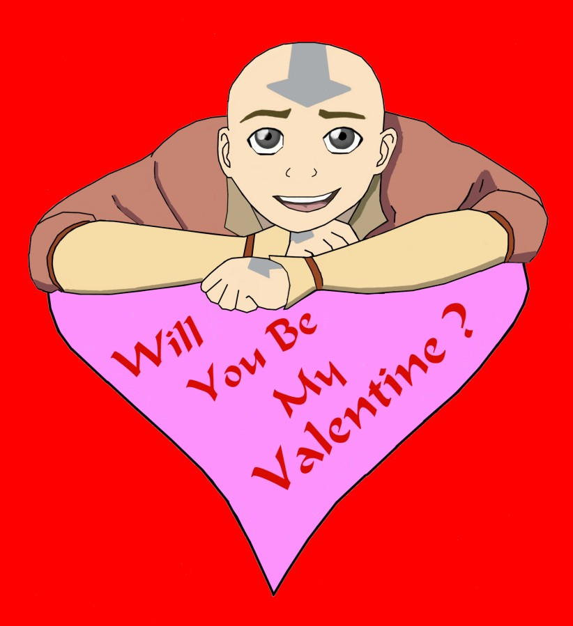 Aang Valentine by BSG