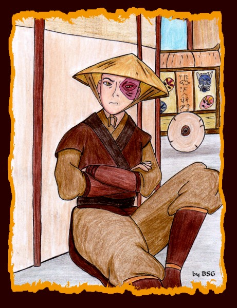 Zuko just sitting & brooding by BSG