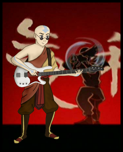 Aang of Bass by BSG