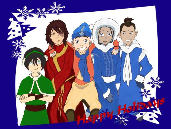 Happy Holidays from the Gaang! by BSG