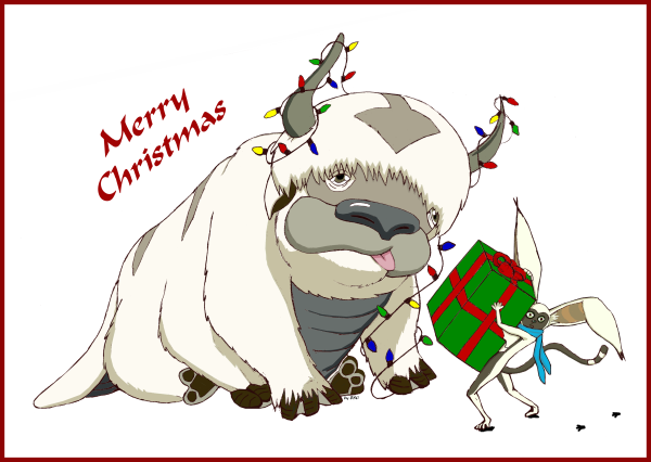 Merry Christmas from Appa & Momo by BSG