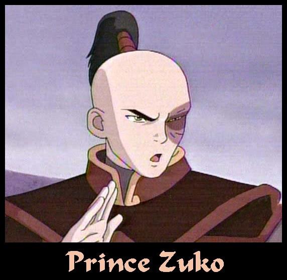 Prince Zuko (First Season)