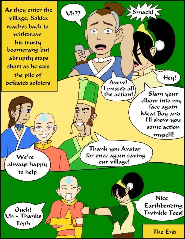 An Avatar Adventure by BSG pg 6 of 6