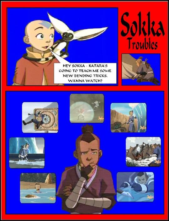 """Sokka Troubles"" by BSG pg 1 of 2"