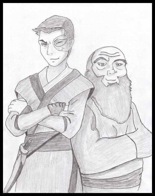 """""""Zuko & Iroh Sketch"""" by BSG"""