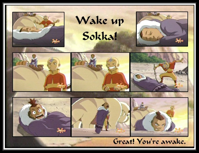 """Wake Up Sokka"" by BSG"