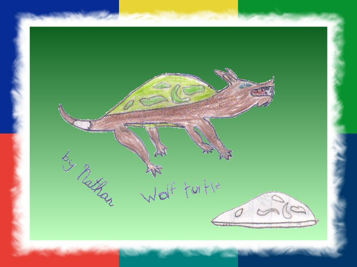 """Wolf Turtle,"" by Nathan"